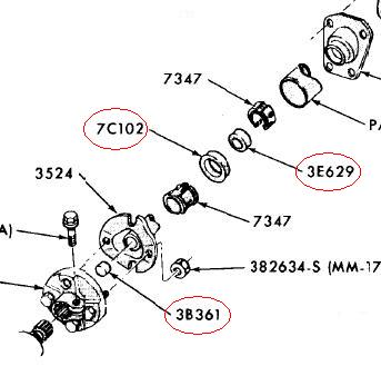 66 Chevelle Steering Column Diagram further Steering Column Vibration Chevy also C9AZ 3E629 A likewise 191203960026 likewise HP PartList. on 1967 chevy steering column diagram